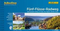 Bikeline Radtourenbuch Fünf-Flüsse-Radweg