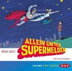 Allein unter Superhelden, 2 Audio-CDs