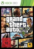 GTA 5 - Grand Theft Auto V (Xbox 360)