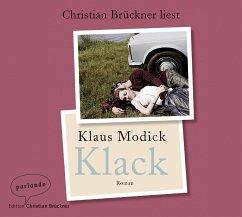 Klack, 5 Audio-CDs - Modick, Klaus
