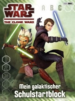 Star Wars The Clone Wars Schulstartblock