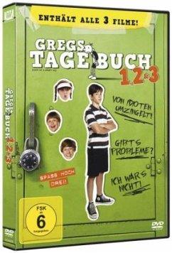 Gregs Tagebuch 1, 2 & 3 (3 Discs)