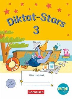 Diktat-Stars 3. Schuljahr. Übungsheft. TING-Ausgabe