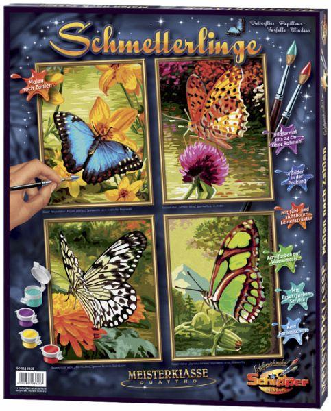 Schipper 609340628 Schmetterlinge Mnz Malen Nach Zahlen