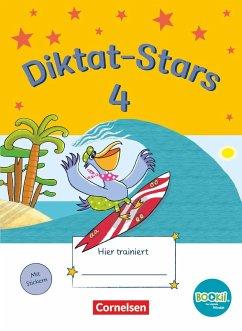 Diktat-Stars 4. Schuljahr. Übungsheft mit Tingfunktion