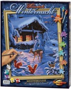 Romantische Winternacht / Meisterklasse Premium...