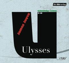 Ulysses, 31 Audio-CDs - Joyce, James