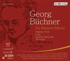 Die Hörspiel-Edition, 5 Audio-CDs - Büchner, Georg