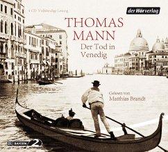 Der Tod in Venedig, 4 Audio-CDs - Mann, Thomas