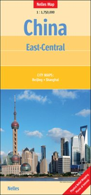 Nelles Maps China: East-Central