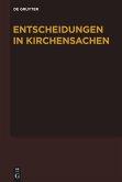 Entscheidungen in Kirchensachen seit 1946. Band 54