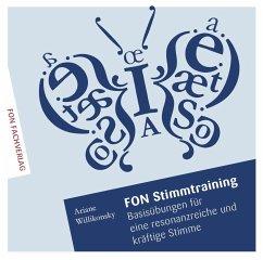 Stimmtraining, MP3-CD - Willikonsky, Ariane; Gottwald, Jonathan
