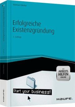 Erfolgreiche Existenzgründung -mit Arbeitshilfen online - Bleiber, Reinhard