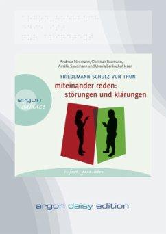 Miteinander reden Teil 1: Störungen und Klärungen (DAISY Edition), 1 MP3-CD (DAISY Edition) - Schulz von Thun, Friedemann