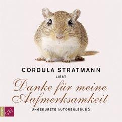 Danke für meine Aufmerksamkeit, 4 Audio-CDs - Stratmann, Cordula