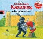Der kleine Drache Kokosnuss und der schwarze Ritter / Die Abenteuer des kleinen Drachen Kokosnuss Bd.4, 1 Audio-CD