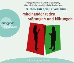 Miteinander reden, 4 Audio-CDs - Schulz von Thun, Friedemann