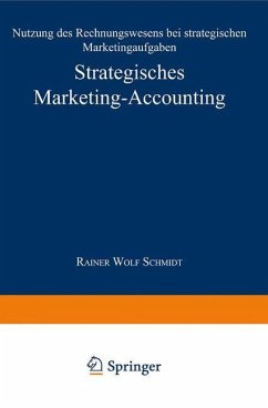 Strategisches Marketing-Accounting - Schmidt, Rainer W.