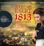 1813 - Kriegsfeuer, 2 MP3-CDs