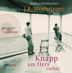 Knapp am Herz vorbei, 8 Audio-CDs - Moehringer, J. R.