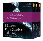 Fifty Shades of Grey, Die Gesamtausgabe (Teil 1-3), 6 MP3-CDs
