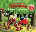 Schulausflug ins Abenteuer / Die Abenteuer des kleinen Drachen Kokosnuss Bd.19, 1 Audio-CD