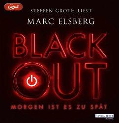 BLACKOUT - Morgen ist es zu spät, 2 MP3-CDs - Elsberg, Marc