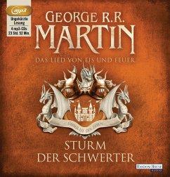 Sturm der Schwerter / Das Lied von Eis und Feuer Bd.5 (4 MP3-CDs) - Martin, George R. R.