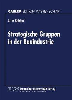 Strategische Gruppen in der Bauindustrie