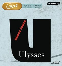 Ulysses, 6 MP3-CD - Joyce, James