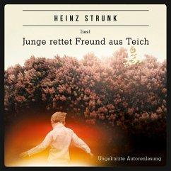 Junge rettet Freund aus Teich, 4 Audio-CDs - Strunk, Heinz