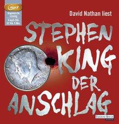 Der Anschlag, 4 MP3-CDs - King, Stephen