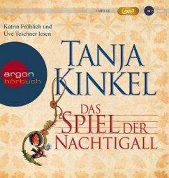 Das Spiel der Nachtigall, 3 MP3-CDs - Kinkel, Tanja