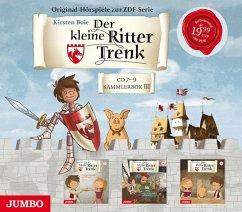 Der kleine Ritter Trenk - Sammelbox III, 3 Audio-CDs - Boie, Kirsten