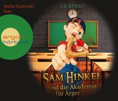 Sam Hinkel und die Akademie für Ärger / Sam Hinkel Bd.1 (4 Audio-CDs) - Burns, T. R.