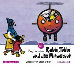 Robbi, Tobbi und das Fliewatüüt - Von Plumpudding Castle nach Tütermoor, 2 Audio-CDs - Lornsen, Boy