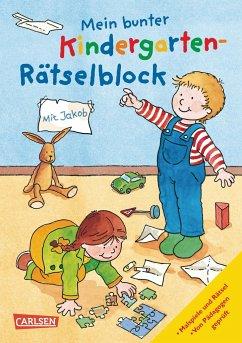 Mein bunter Kindergarten-Rätselblock - Sörensen, Hanna; Leintz, Laura