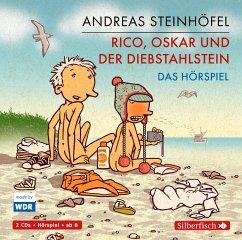 Rico, Oskar und der Diebstahlstein / Rico & Oskar Bd.3 (2 Audio-CDs) - Steinhöfel, Andreas