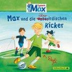Max und die überirdischen Kicker / Typisch Max Bd.4 (1 Audio-CD)