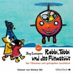 Robbi, Tobbi und das Fliewatüüt - Von Tütermoor zum geringelten Leuchtturm, 2 Audio-CDs - Lornsen, Boy