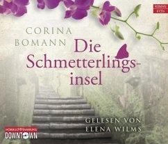 Die Schmetterlingsinsel, 6 Audio-CDs - Bomann, Corina