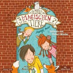 Die Schule der magischen Tiere Bd.1 (2 Audio-CDs) - Auer, Margit