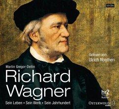 Richard Wagner, 15 Audio-CDs - Gregor-Dellin, Martin