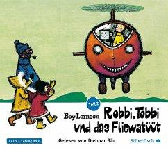 Robbi, Tobbi und das Fliewatüüt - Vom Nordpol bis Loch Ness, 2 Audio-CDs - Lornsen, Boy