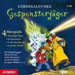 Gespensterjäger Bd.1-4, 4 Audio-CDs - Funke, Cornelia