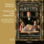 Der große Gatsby, 5 Audio-CDs