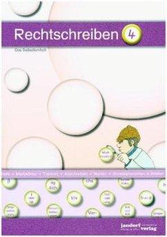 Rechtschreiben 4 / Rechtschreiben Selbstlernheft Bd.4 - Wachendorf, Peter; Debbrecht, Jan