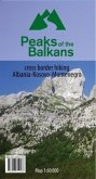 Peaks of the Balkans 1:60000