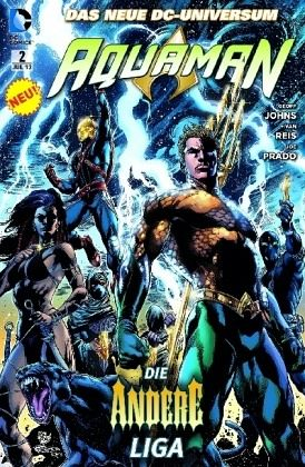 Buch-Reihe Aquaman