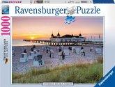 Ravensburger 19112 - Ostseebad Ahlbeck, Usedom, 1000 Teile Puzzle